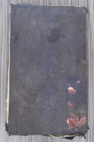 经折装术数类布面手绘老画册