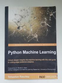 python machine learning(16开)复印件