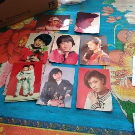 八、九十年代个人彩色艺术照片(8张合售)