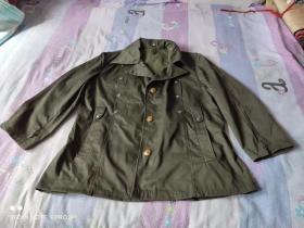 老式警服上衣(肩宽约47厘米,长约70厘米,胸围约55厘米 老公安警察民警干警 经典服装收藏