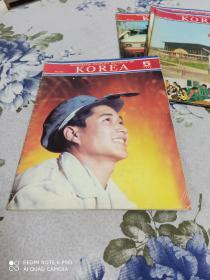 韩国画报1979年第5.7.9.10期四本合售
