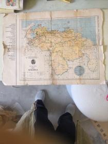 外国地图【600X400mm英文】