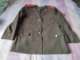 老式检察院上衣(身高165)老式公安警察民警干警 经典服装收藏