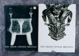 1967年 《The Freer Chinese Bronzes -弗利尔美术馆藏中国青铜器》2卷全,精装