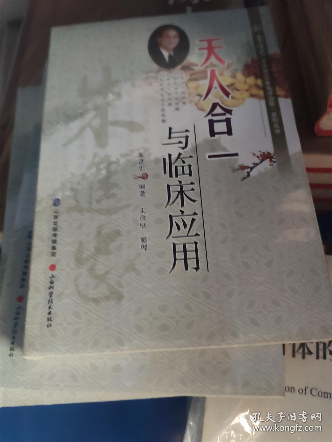朱进忠老中医50年临床治验系列丛书:天人合一与临床应用
