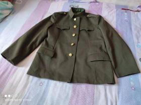 老式橄榄绿色校哔军上衣(1型2号)老式军队公安警察民警干警 经典服装收藏
