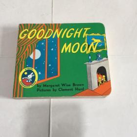 Goodnight Moon 英文原版童书 晚安月亮 60周年纪念版 吴敏兰 廖彩杏书单绘本 1-5岁 纸板书 亲子阅读睡前故事