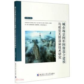 城市场景图形图像混合建模与视觉无损渲染技术研究