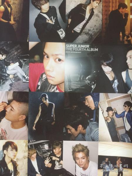 韩国原版 Super Junior《Bonamana》专辑  官方海报