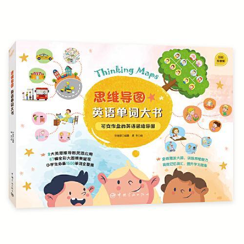思维导图英语单词大书 可交作业的英语思维导图