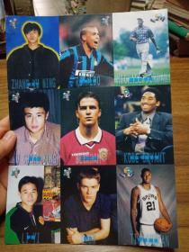 体育世界 球星明信片卡 (1张)