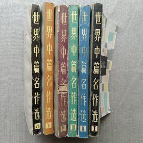 世界中篇名作选 1-6集 6本合售