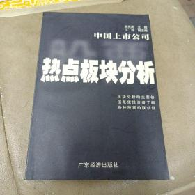 《中国上市公司热点板块分析》