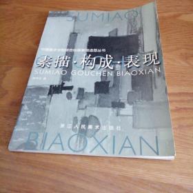 素描构成表现 中国美术学院综合绘画基础造型丛书