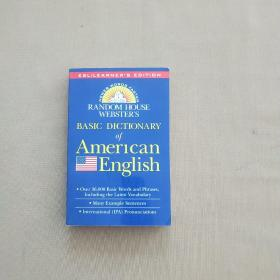 Random House Webster's Basic Dictionary of American English