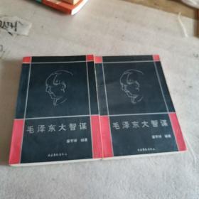 毛泽东大智谋 上下册 一版一印