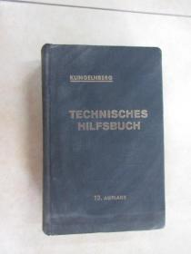 外文书; KLINGELNBERG  TECHNISCHES  HILFSBUCH  13.AUFLAGE   共849页 【精装】 详见图片