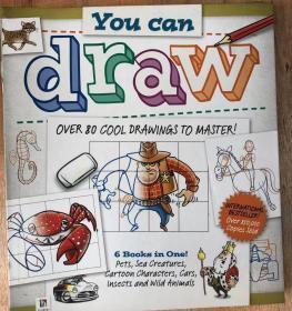 精装 尾单正品 You Can Draw 你可以画画