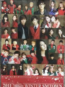 韩国原版 SM群星圣诞节 官方海报