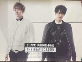 韩国原版 Super Junior Donghae & Eunhyuk 《The Beat Goes On》专辑 官方海报