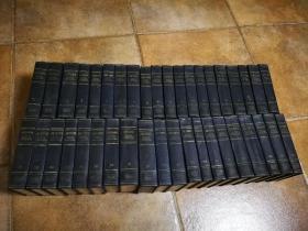 列宁全集 1—40卷(精装,俄文原版,书顶刷蓝,包邮)