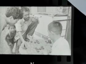 九零年代初期,淮河风情底片九种