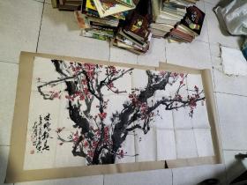 尹仲群 梅花8-307