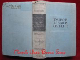 Deutsche Literaturgeschichte: von den Anfängen bis zur Gegenwart(German Edition)德国文学史:从开始到现在(德语原版 精装本)
