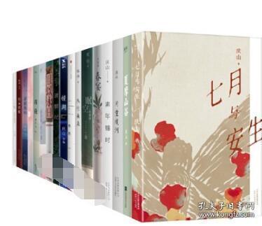 庆山安妮宝贝的书全套17册正版全集八月未央 仍然 眠空 莲花 春宴