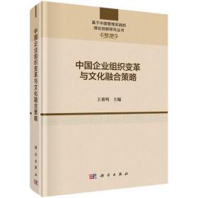 中国企业组织变革与文化融合策略:基于中国管理实践的理论创新研究丛书