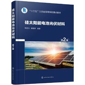 (本科教材)硅太阳能电池光伏材料(第2版)