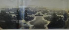 民国大连星海公园全景接片照片