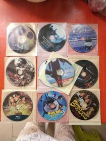 外国电影.故事片.DVD光盘.裸盘 :【杀手悲歌、育婴奇谭、鲨鱼黑帮、墨水心、三步杀人曲、活在死亡线上、一个头两个大、抓壮丁、秘密组织、灵异拼图 】10部合售不拆售,不重复 看图