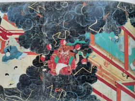 日本绘卷大成21 《北野天神缘起》国宝承久本全8卷 重要文化财弘安本三卷及东京国立博物馆藏断简