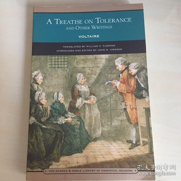 A treatise on Tolerance and other Writings(英语原版,伏尔泰《论宽容及其它作品》)