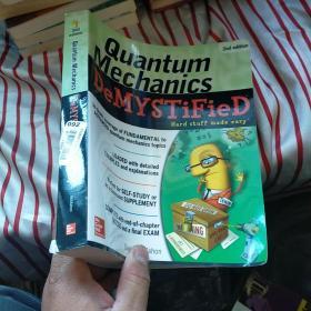 QuantumMechanicsDemystified  外文版 正版  内页干净