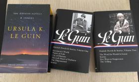 预售海地人的小说和故事:美国图书馆盒装套装Ursula K. Le Guin: The Hainish Novels and Stories : A Library of America Boxed Set