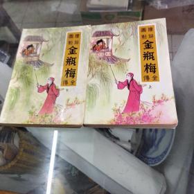 《绘图评点金瓶梅全传》上下册