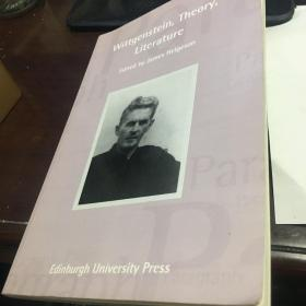 Wittgenstein Theory Literature  A Journal of modern Critical Theory Volume 34 number 3维特根斯坦 理论 文献