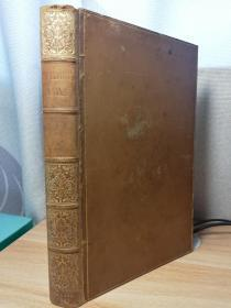 1821年 THE WORKS OF HENRY FIELDING, ESQ. BY MURPHY 菲尔丁作品集 卷二  含一副精美藏书票 全皮装帧  内页干净  21.5X14CM