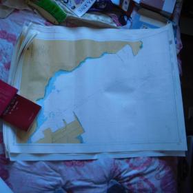 航海图--中国、黄海、大连港---北良港区及和尚岛港区(1100*800)