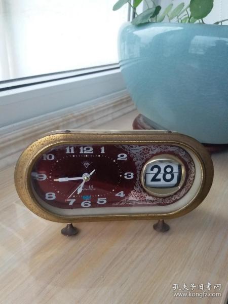 钻石日历钟