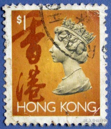 英国女王老邮票(香港邮票)--早期香港邮票甩卖--实拍--包真