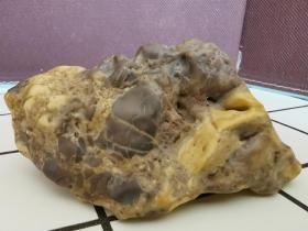 新疆戈壁滩奇石把件摆件
