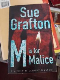 M is for Mallice / Sue Grafton.