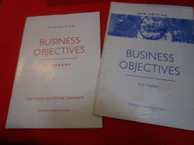 BUSINESS OBJECTIVES(+work book)/NEW EDITION/Viki Hollett/Oxford University Press/191Pages