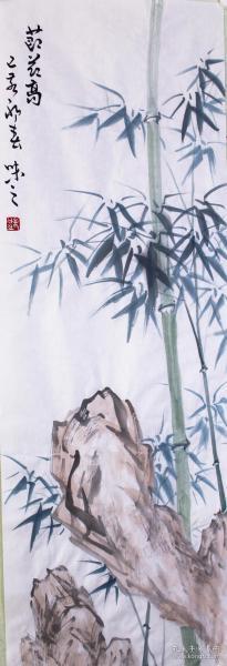 当代艺术家协会副主席手绘真迹!!节节高19134