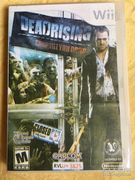 Wii游戏 丧尸围城 dead rising 游戏光盘