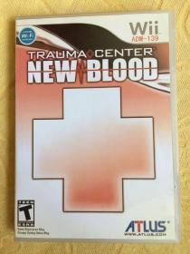 Wii游戏 超执刀 新血 游戏光盘