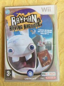 Wii游戏 雷曼 疯狂兔子2 游戏光盘
